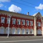 Базановский воспитательный дом со стороны
