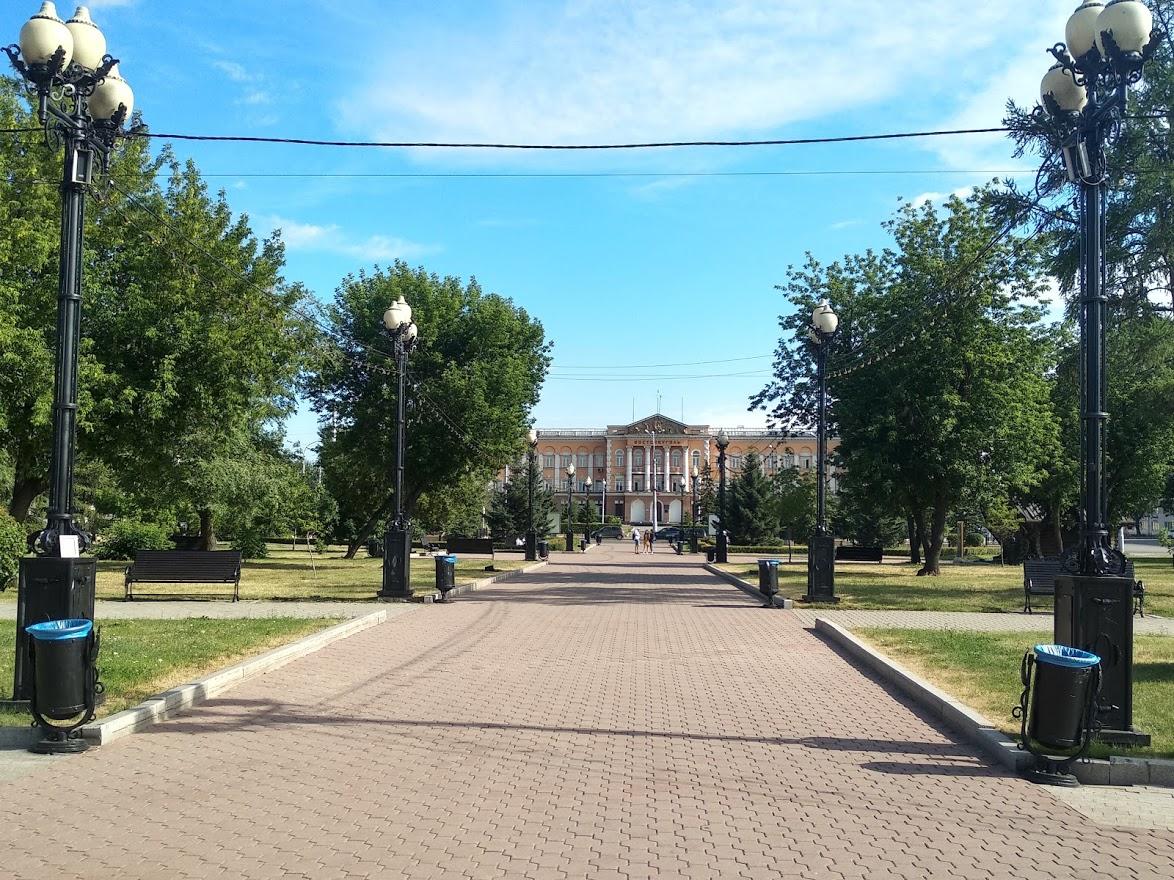 Сквер им. Кирова