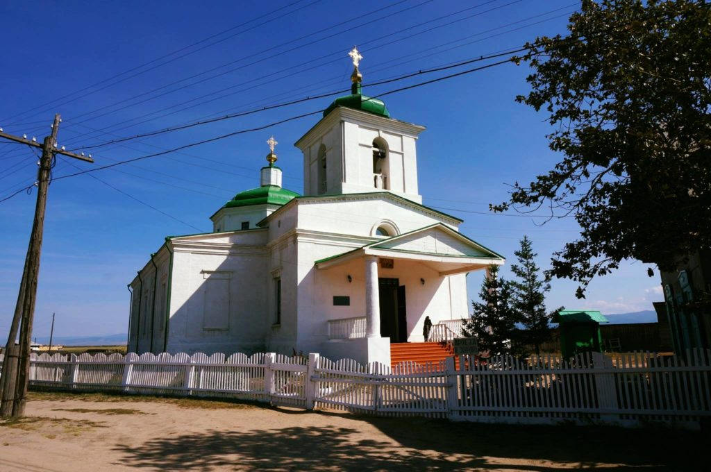 церковь Баргузин