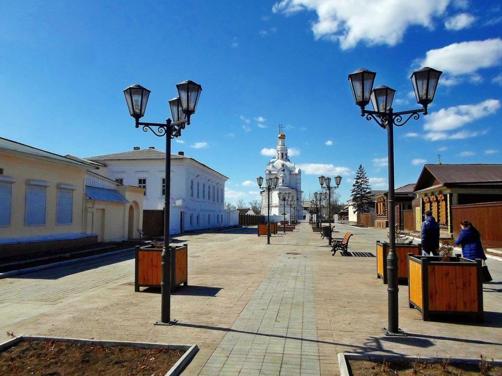 Улица Соборная в Улан-Удэ