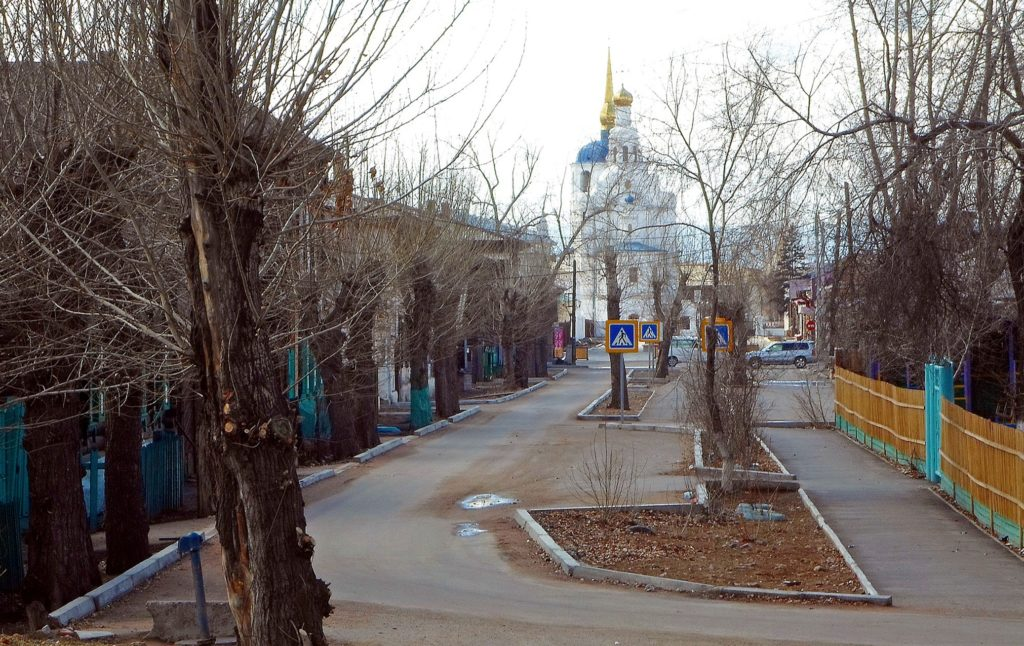Улица Соборная до реставрации