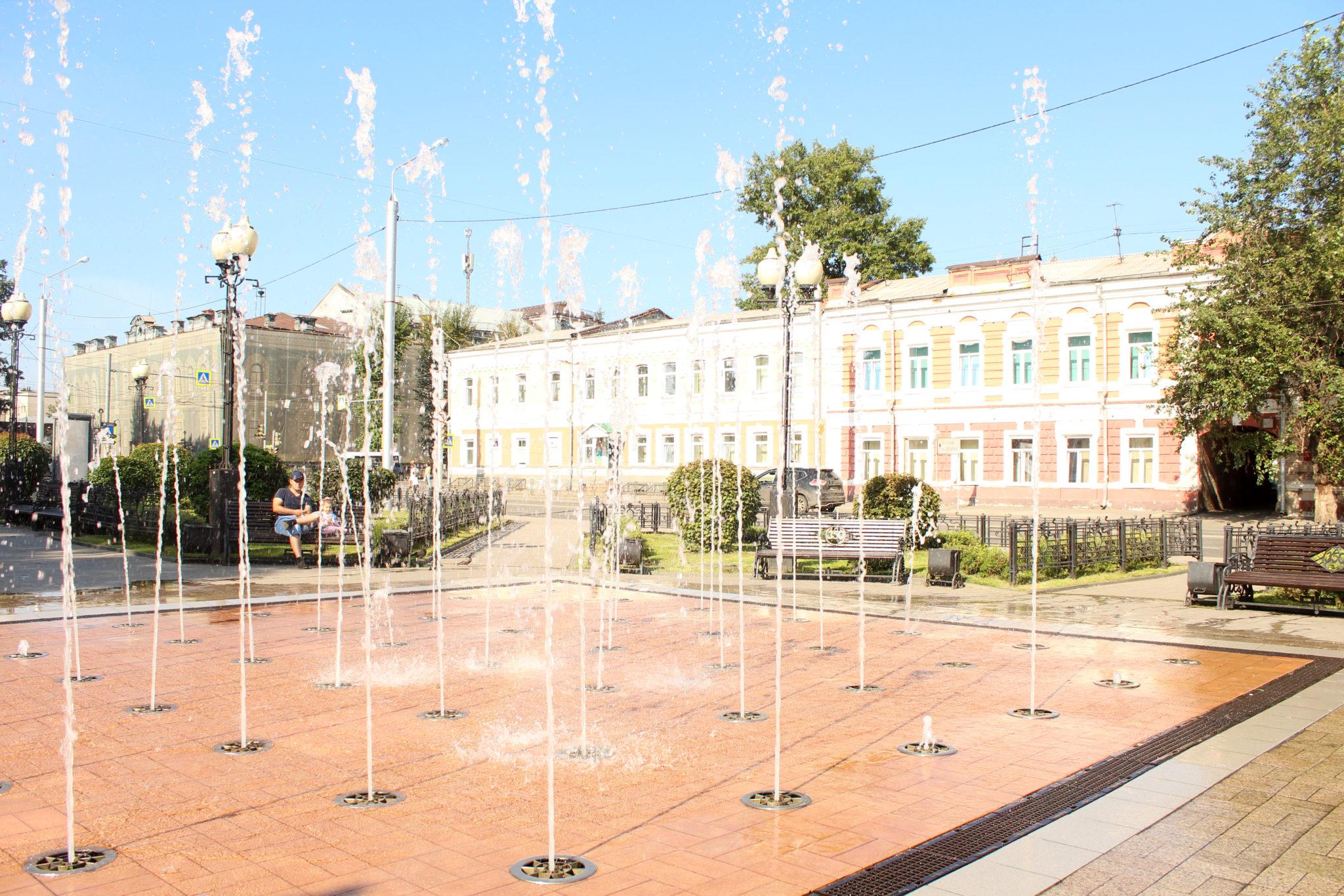 фонтан на Карла Маркса