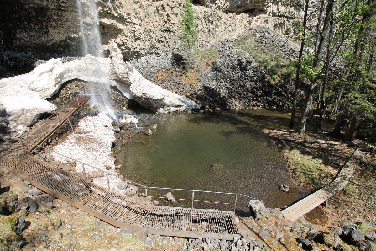 водопад Жомболок