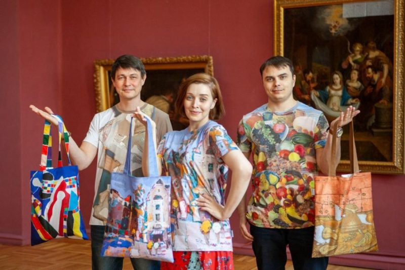 мерч художественного музея