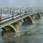 Глазковский мост в Иркутске