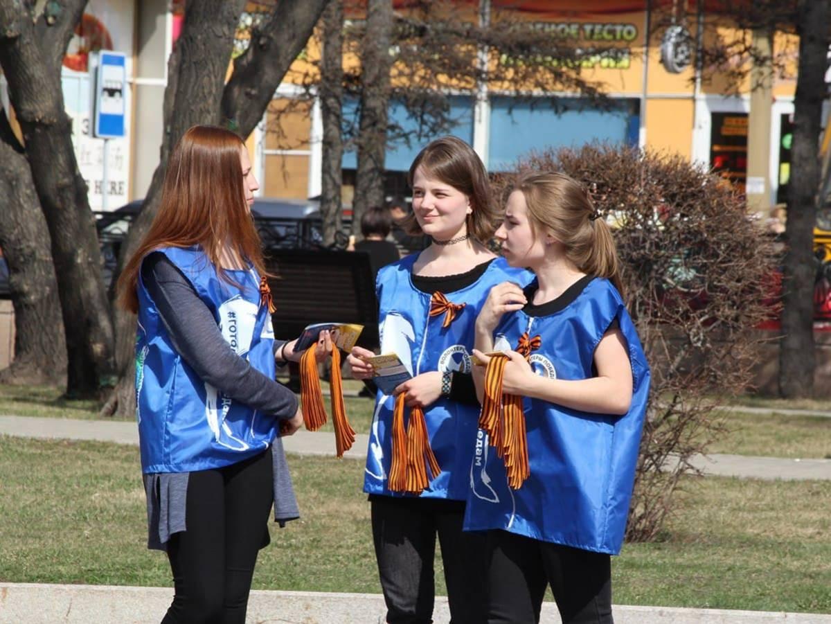 Акция «Георгиевская ленточка» стартует в Иркутской области 28 апреля