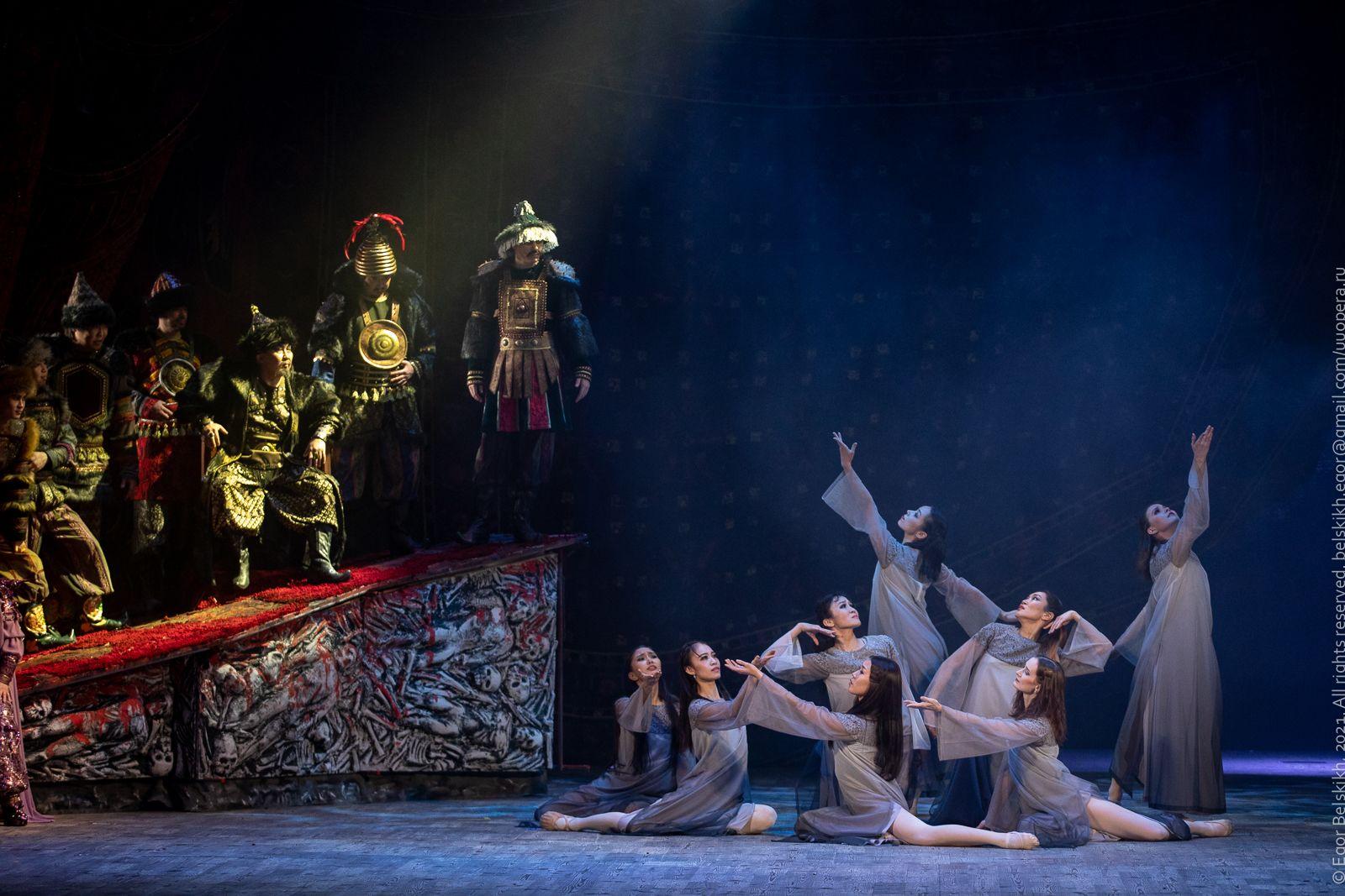 Гастроли Бурятского театра оперы и балета в Иркутске