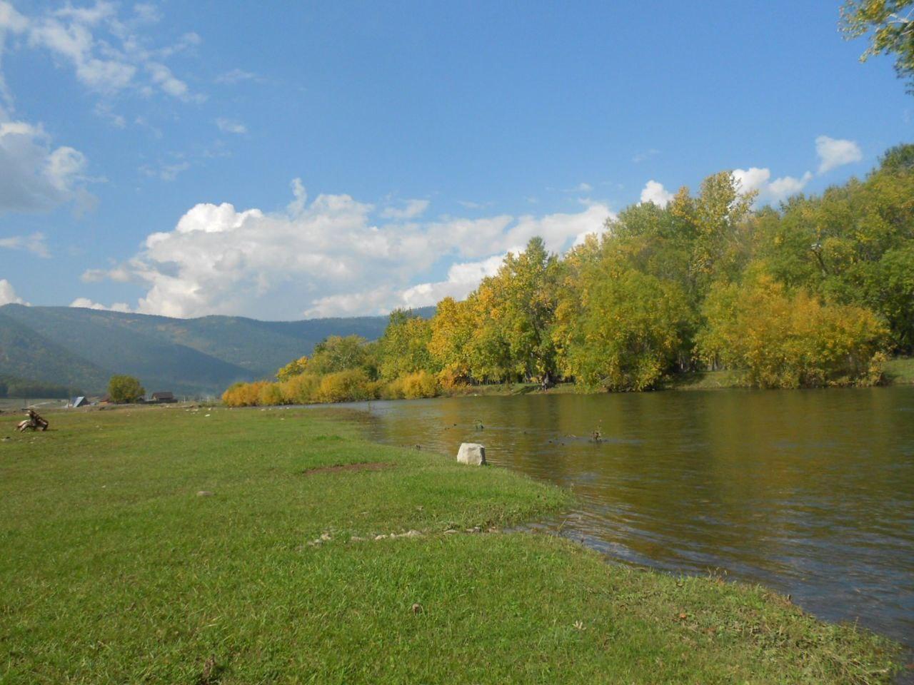 Река Большое Голоустное