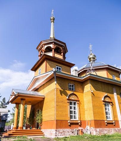 церковь Листвянка