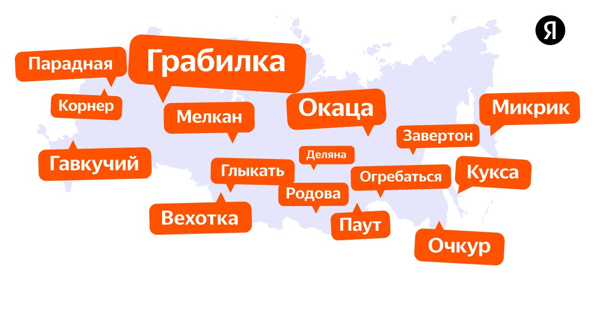 Яндекс словарь местных слов