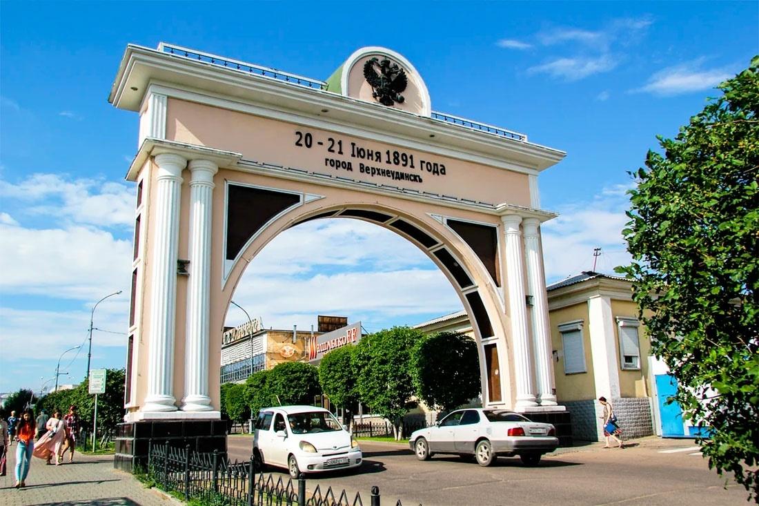 Триумфальная арка Улан-Удэ
