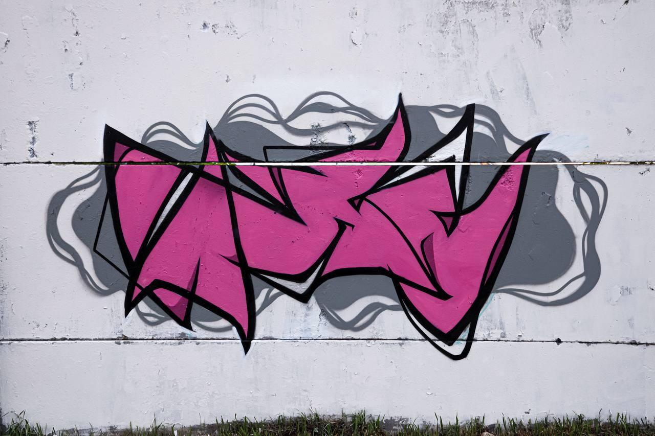 граффити практика