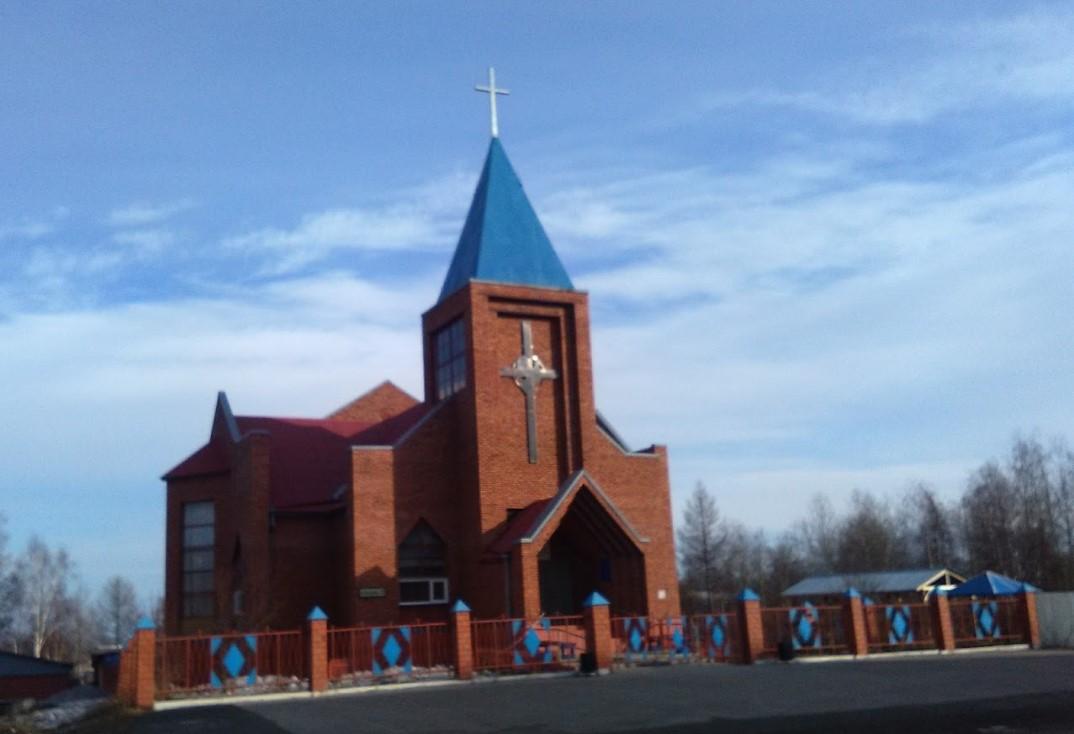 Протестантская церковь Братск