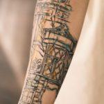 Деревянный Иркутск тату